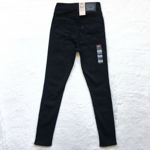 Levi's Jeans - Levis 721 High Rise Skinny To The Nine Black Jeans
